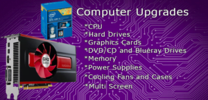 we upgrade PC's and Mac's