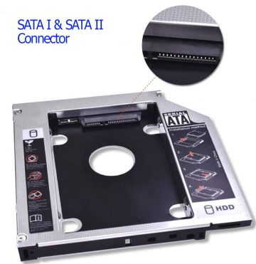"Caddy Adapter 2.5"" HDD 