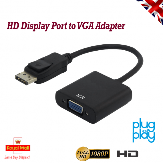 DP to VGA Adapter
