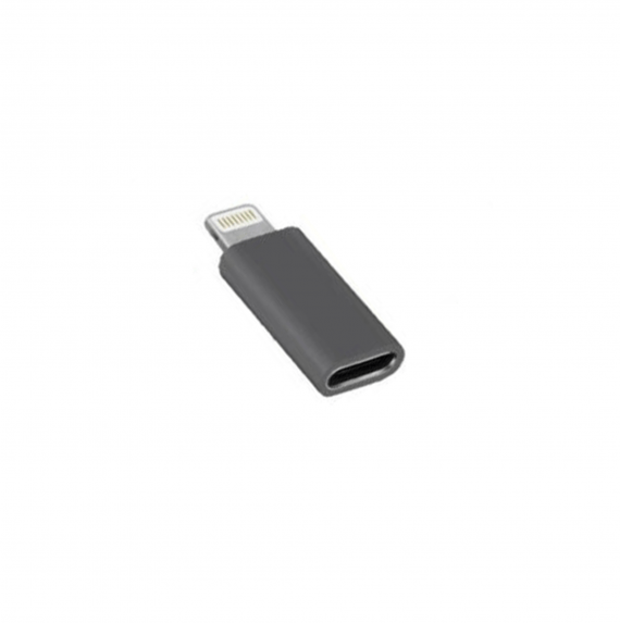 Product Description: -Converts USB-C into Lightning cable in a second -Connect your iPhone/iPad/iPod with a USB-C cable (not included) -Aluminium alloy shell, top-grade finish, ensures longer service life -Highest quality materials and technology to enhance both performance and safety -Mini exquisite appearance, convenient and easy to carry -Reversible design for Lightning connector -Support power charging