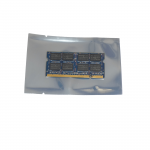 Zip Seal Reusable Metallised Anti-Static Bags ideal for temporary safe storage or shipping, protects delicate ESD Devices from Static Discharge Damage and Moisture. Flat Pouch, Metallised, Grey, 50% Transparent, Click Seal to Shortest Side. Bags can be Heat Sealed if Required for Extra Security.