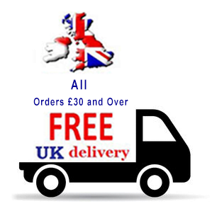 Free UK Mainland Delivery on all orders £30 and over