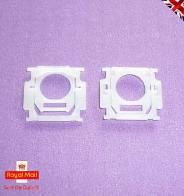 "New UK QWERTY Key Cap Set for MacBook & MacBook Pro, This Cap Set uses the Type ""B"" AP04 Hinge Assembly Alpha Numeric Hinge Shown for reference, this must match your Cap Hinges to ensure compatibility. 3 Month Warranty"
