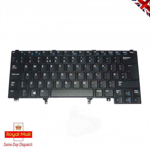 Latitude E5420 E5430 E6320 E6330 E6420 E6430 E6440 Keyboard UK QWERTY 0YW6W9